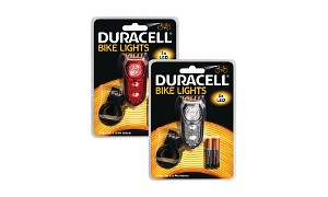 3 LED Front & Rear Bicycle Light Set