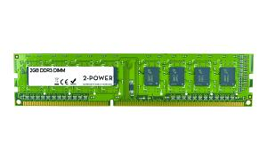 2GB MultiSpeed 1066/1333/1600 MHz DIMM