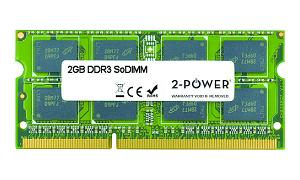 2GB MultiSpeed 1066/1333/1600 MHz SoDIMM